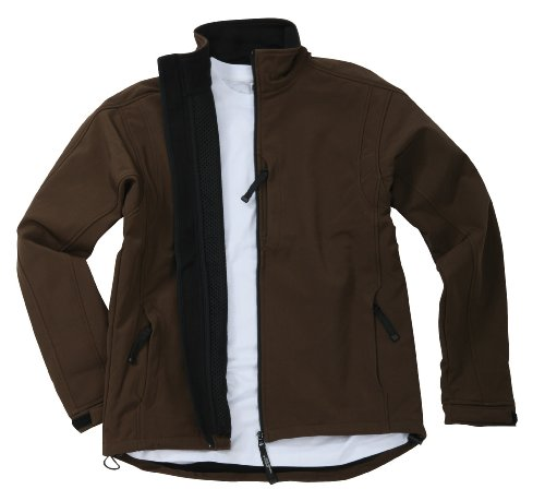 James & Nicholson Herren Jacke Softshelljacke braun (brown) Large