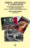 Orden, jerarquía y comunidad: Fascismos, dictaduras y postfascismos en la Europa contemporánea (Ciencia Política - Semilla Y Surco - Serie De Ciencia Política)
