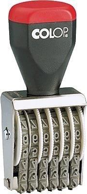 Colop NUMC.0406.1 Numeratore Data Autoinchiostrante, 4 mm