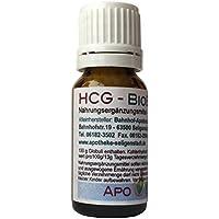 HCG BioEnerg Globuli - 10 g - hormonfrei - aus deutscher Traditionsapotheke