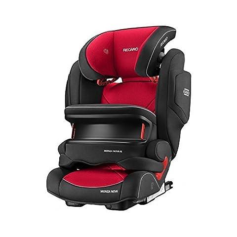 Recaro 4031953062193 Kinderautositz Monza Nova IS Seatfix, rot