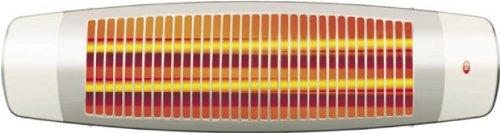 EWT Strato 462 Wand 1200W Silber, Weiß - Elektrische Raumheizungen (Silber, Weiß, IP24, 160 x 150 x 160 mm, 1200 W, 600 W, Wand)