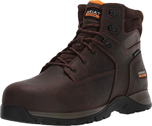 ARIAT Men's Edge Lite Waterproof Lace-Up Work Boot Composite Toe