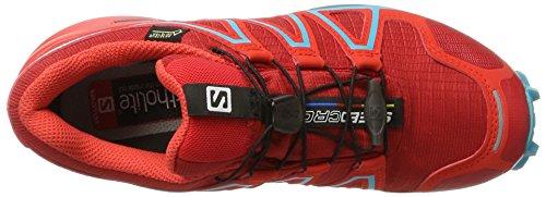 Salomon Speedcross 4 Gtx W, Scarpe da Trail Running Donna Rosso (Barbados Cherry/poppy Red/deep Lagoon)