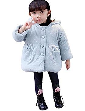 Babykleidung,Sannysis Baby Kleinkind Mädchen Herbst Winter Kapuzenmantel Umhang Jacke Dicke warme Kleidung 6-24Monat...
