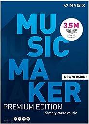 Music Maker - 2021 Premium - Mehr Sounds. Mehr Möglichkeiten. Einfach Musik machen | PC | PC Aktivierungscode