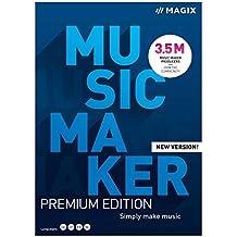 Music Maker - 2021 Premium - Mehr Sounds. Mehr Möglichkeiten. Einfach Musik machen | PC | PC Aktivierungscode per Email