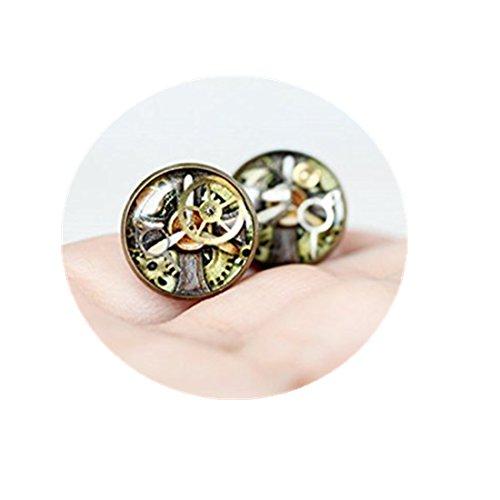 Steampunk earrings studs Antique Watch Movements Steampunk earrings steampunk buy now online