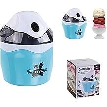 Hielo Máquina para 500ml llano de hielo (helado automática, Sorbet o Frozen de yogur, helado de émbolo, tapa transparente)