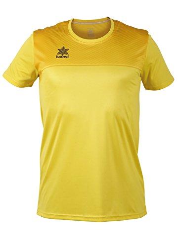 Luanvi Apolo Camiseta, Hombre, Amarillo, XL