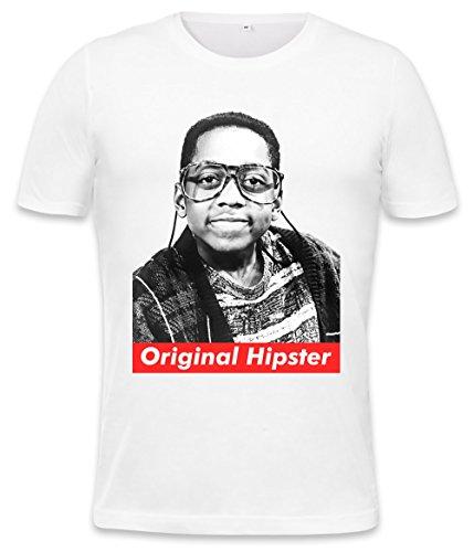 Orginal Hipster Steve Urkel Swag Hype Mens T-shirt Medium