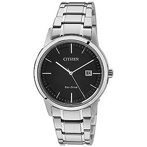 Citizen Herren Analog Quarz Uhr mit Edelstahl Armband AW1231-58E