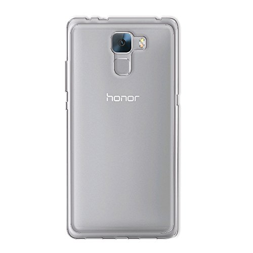 Minto Ultradünn TPU Hülle iPhone 8 Plus / iPhone 7 Plus Silikon Schutzhülle Handyhülle Case Crystal Cover Durchsichtig transparent 0.6mm Honor 7