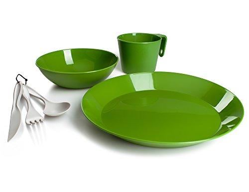 GSI Outdoors Cascadian Tischset für 1 Person, Herren, 77313, grün, Einheitsgröße