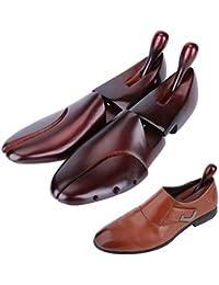 Hormas de y pernitos originales de Zederello en pino de cedro, paquete doble, tensor para el calzado, ensanchador para el calzado, pack de 2