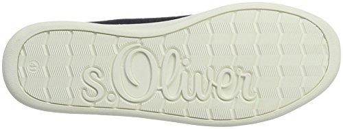 s.Oliver 23647, Scarpe da Ginnastica Basse Donna Blu (NAVY 805)