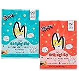 [Sponsored]The Mumum Co. Super Sprinklies Multigrain Cereal Snacks For Kids Combo (20g X 4) - Pack Of 2 (1 Box Apple & 1...