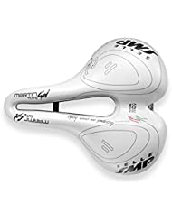 Selle SMP - Sillín de bicicleta TRK Marting Touring, color blanco