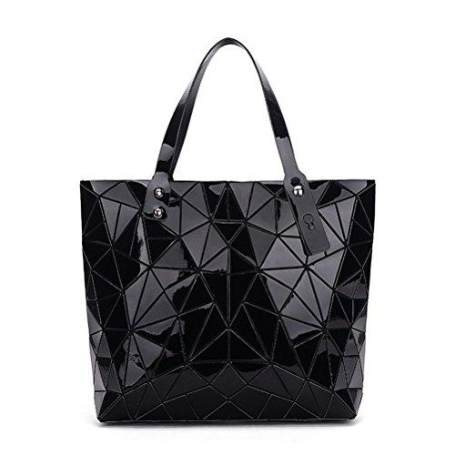 Diamond großen Gesteppten Damen Handtasche geometrische Tote Umhängetaschen