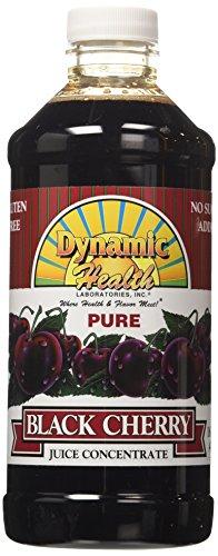 Dynamic Health, Jus de cerise noire concentré, 100% pur, 16 fl oz (473 ml)