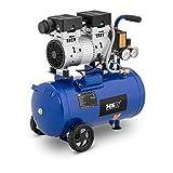 MSW Compressore Senza Olio Compressore Aria MSW-0AC750-24L (24 L, 750 W, 8 bar, 1.400 giri/min, Alluminio)