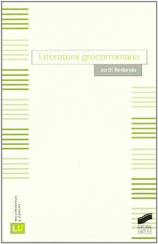 Literatura grecorromana Cover Image