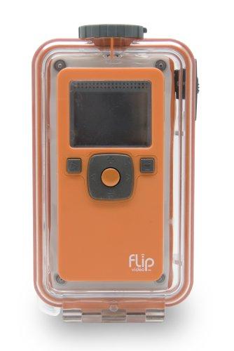 Flip Video Unterwassergehäuse für 1. Generation Flip Video Kameras (Flip-kamera Unterwasser)