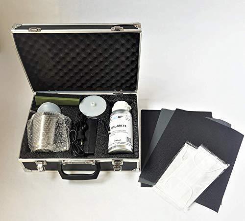 Scap Scheinwerfer Bedampfen - Reparieren, im Set enthaltene rep. Flüssigkeit reicht für 40 Scheinwerfer -