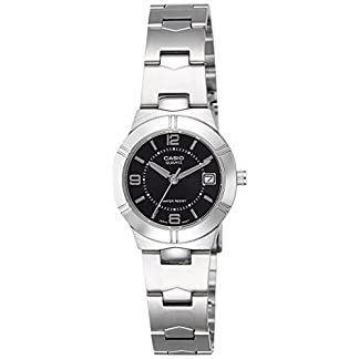 Casio Enticer Analog Black Dial Women's Watch – LTP-1241D-1ADF (A849)