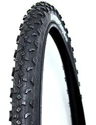 Michelin Country cross - Cubierta de ciclismo de bicicleta 26x1.95 Cross tr negra
