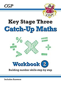 New KS3 Maths Catch-Up Workbook 2 (with Answers) (CGP KS3 Maths) from Coordination Group Publications Ltd (CGP)