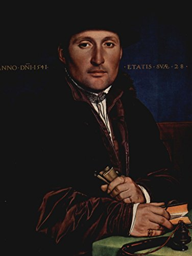 Lais Alu-Dibond Hans Holbein d. J. - Porträt eines jungen Mannes 40x30 cm