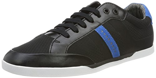 Boss Green Shuttle_Tenn_Tech, Sneakers Basses Homme Noir (Black)