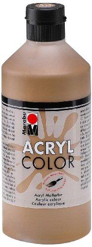 marabu-120175040-acryl-color-500-ml-mittelbraun