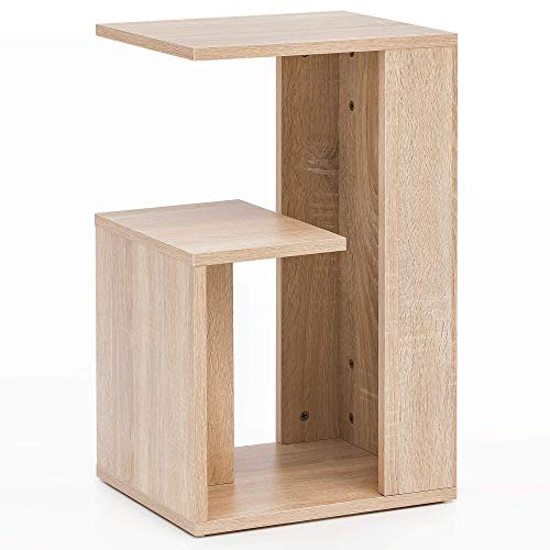 Wohnling WL5.697 Beistelltisch, Holz, Sonoma, 35x29,5x60 cm