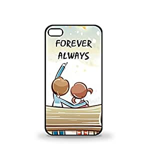 Huppme Forever Always iPhone 4 Phone Cover