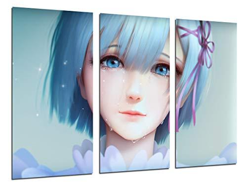 Cuadro Moderno Fotografico Anime Japones, Re Zero...