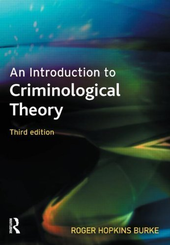 An Introduction to Criminological Theory by Hopkins Burke, Roger (2009) Paperback