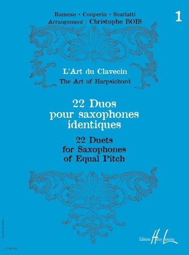 L'Art du Clavecin - 22 Duos Volume 1