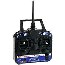2.4g 6 Ch Control del Receptor Transmisor Modelo de Radio del Canal RC