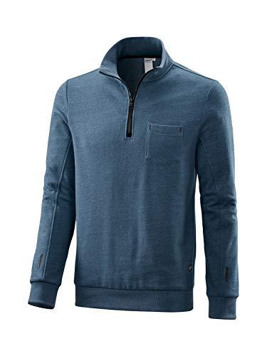 Joy Sportswear Sweatshirt Julian Dutch Blue Melange 56 (Blue Dutch Bekleidung)