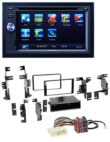 caraudio24 Blaupunkt Las Vegas 570 Bluetooth DVD USB CD 2DIN MP3 Autoradio für Nissan Quest Rogue Titan ab 11