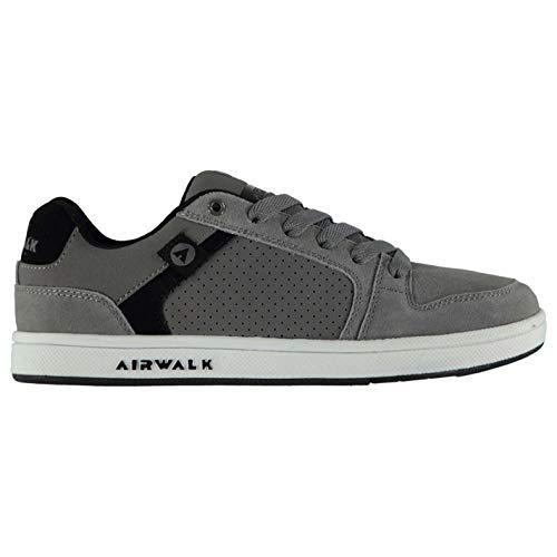 Airwalk Brock Junior Jungen Skateboard Turnschuhe Schuhwerk - grau, 6 UK -