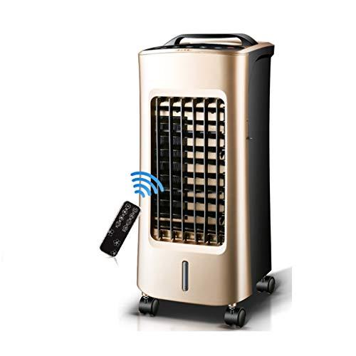 XPfj Mobile Kalt/Warm Dual Use Klimageräte,mit Wasserkühlung Luftbefeuchter Luftreiniger 4 In 1 Luftkühler Ohne Schlauch Energieeffizient Khaki Dual Mobile