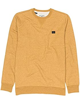 Billabong All Day Crew Dijon Heather L
