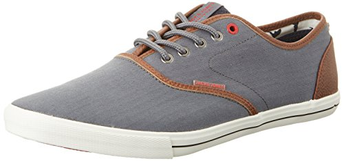 JACK & JONES Herren Jfwspider Herringbone Mix Castlerock Low-Top Blau (Castlerock)