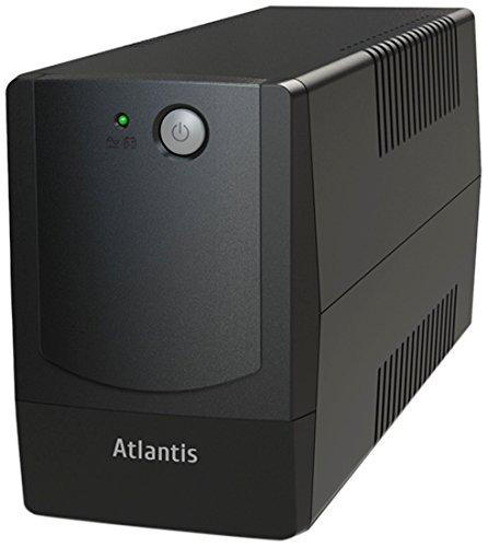 Atlantis OnePower PX1100, UPS Line Interactive 1100VA/550W, AVR (3 stadi), Onda PseudoSinusoidale, 4 prese IEC, 1 Batteria 12V 9Ah