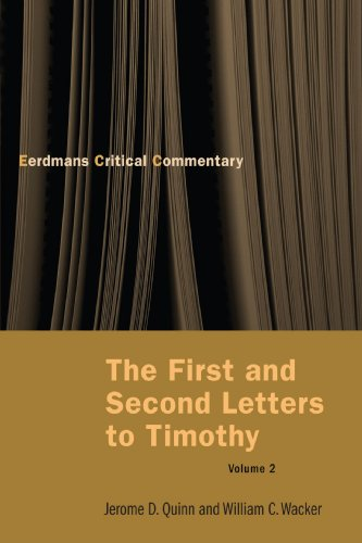 The First and Second Letters to Timothy Vol 2