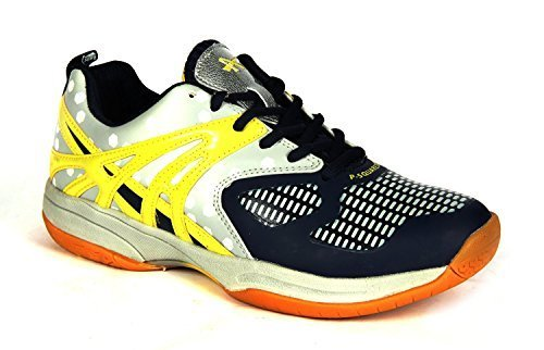 BALLS P-SQUARE 100 N/W BADMINTON SHOE (IND / UK 10)