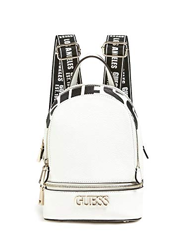 Guess SKYE BACKPACK WHI WHITE
